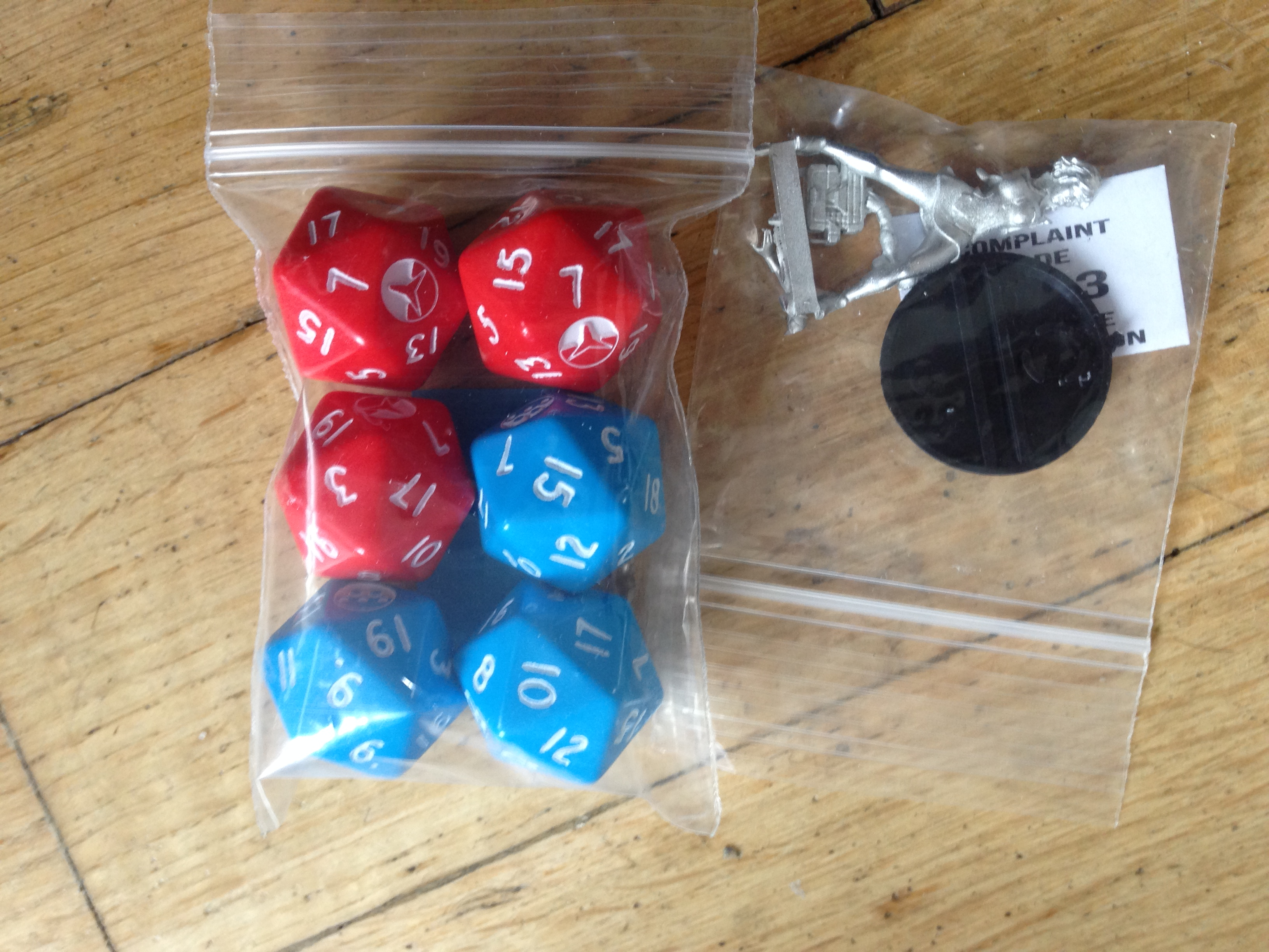 Dice and the limited miniature